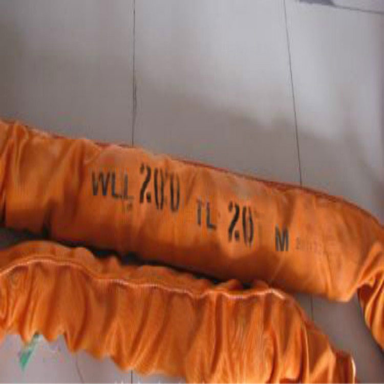 WLL 200T Polyester Round Slings,200000kg Heavy Duty Endless Round Lifting Slings